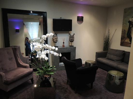 Hôtel Opéra Frochot : living room