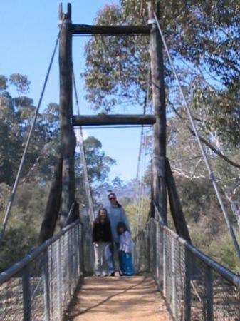 ‪Avon River Suspension Bridge‬