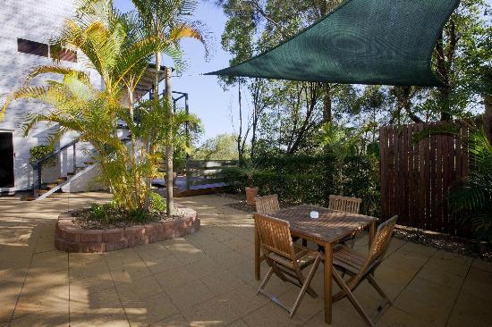 Mt. Coolum Retreat 'A Bed & Breakfast': Guest outdoor area