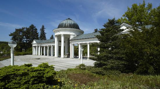 Orea Spa Hotel Bohemia: colonnade