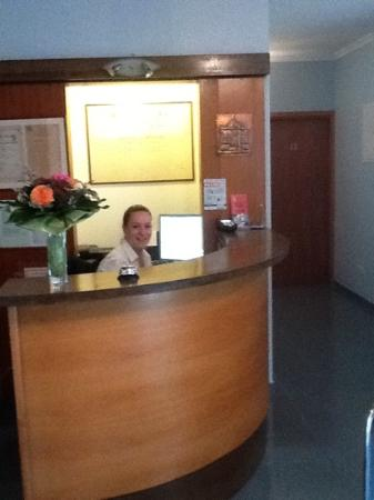 Kamara Dubrovnik : friendly receptionist Lydia