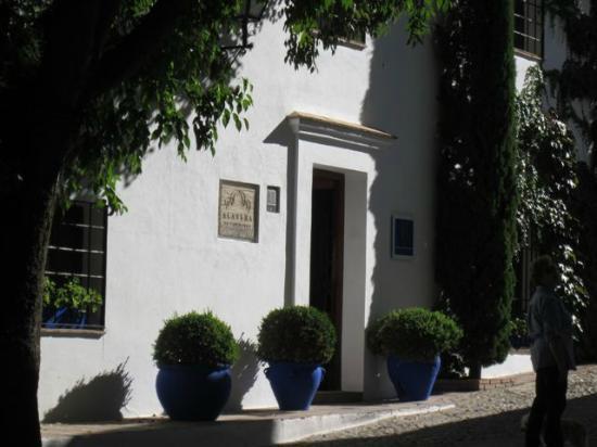 Hotel Alavera de los Banos: Front