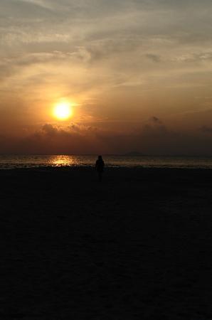 Pulau Joyo: Sunset at Joyo