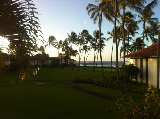 Kiahuna Plantation Resort: view from 178
