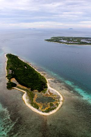 Ζαμποάνγκα, Φιλιππίνες: A view from the top of the Little Sta Cruz Island in Zamboanga City