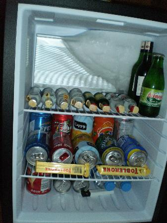 Manesol Taksim Hotel: mini bar
