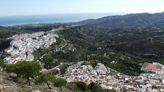 Torrox, Spain: One of the amazing views of the white washed villlage of frigiliana