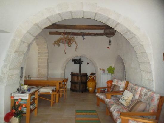 Bed and breakfast Trulli sotto LA CUPA : il palmento