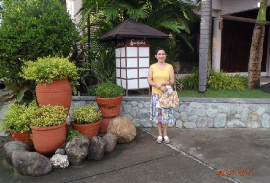Hacienda de Palmeras: @ parking area near the restaurant