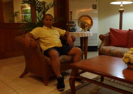 Hacienda de Palmeras: @ hotel lobby