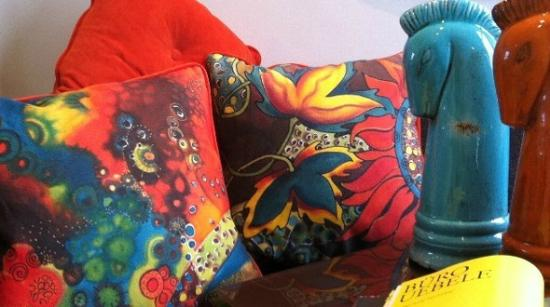 Fiona Turley, Gallery Crafts : Fiona's Unique Printed Cushions