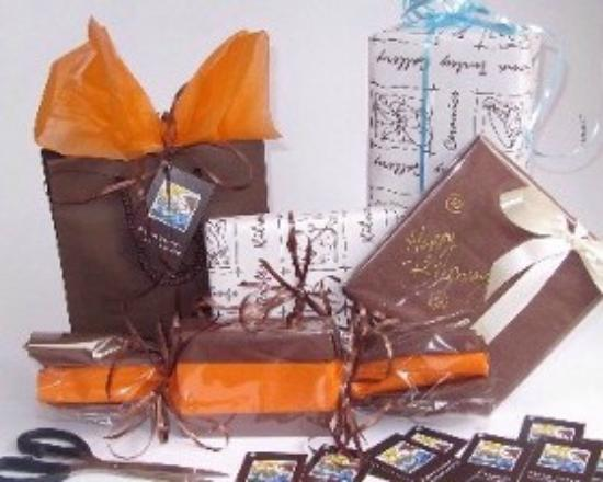Fiona Turley, Gallery Crafts : We wrap everything with love and care, with the special person receiving it always in mind..