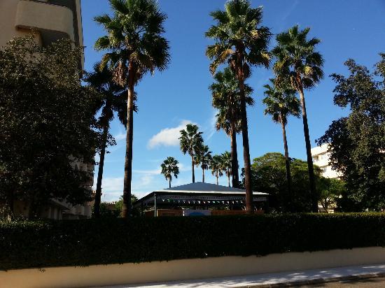 Aparthotel Tropicana Cala Millor: Zwischen Haus 1 und 3