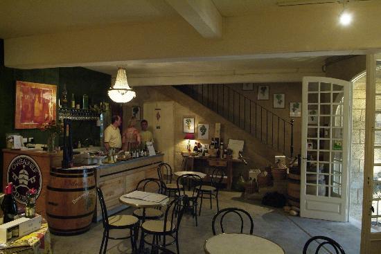 Domaine De La Ronciere: salle de dégustation