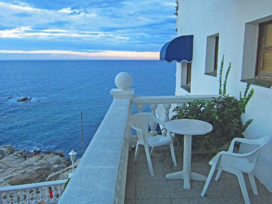 Hotel Costa Brava: Our balcony