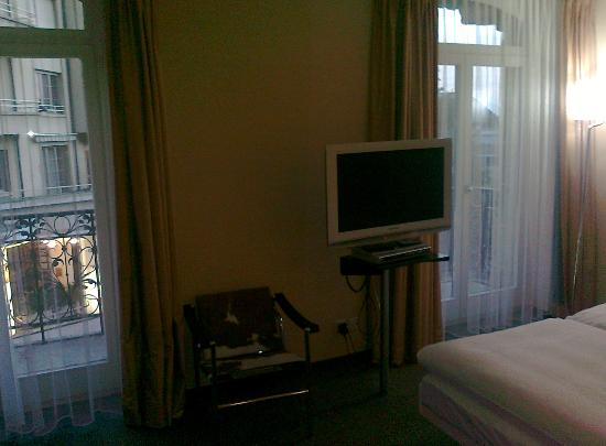 Hotel Alpha-Palmiers: room view