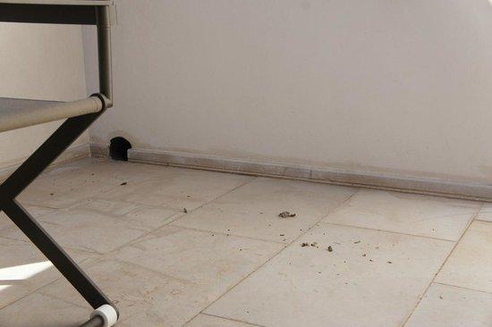 Relais Histo': Dirty floor...