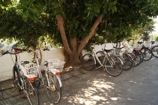 Giakalis Aparthotel: Паркинг)