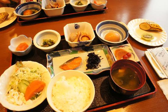 Jomon no Yado Manten : 朝食