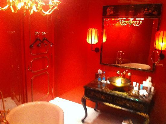 Hullett House: salle de bains suite Shek'O