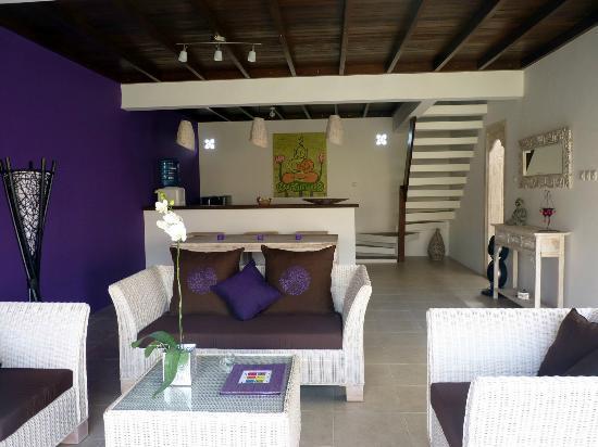 United Colors of Bali: Salon villa violette