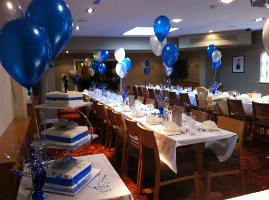 "The Britannia Inn & Waves Restaurant: Enjoy your special occasion in our new private ""Sands Function Suite"""