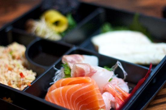 Sumosan Restaurant & Jbar: Weight loss Bento box
