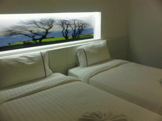 The Gallery Hotel: beds