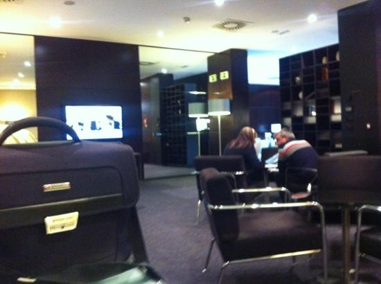 AC Hotel Zamora: zona de currar