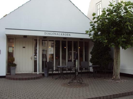 Diagonalkroen Inn: Ingresso