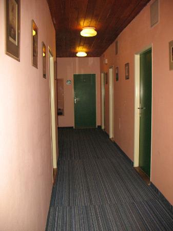 Hotel Svornost: Коридор