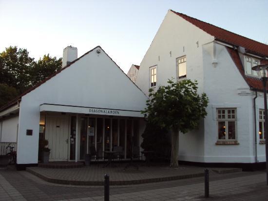 Diagonalkroen Inn: Ingresso principale