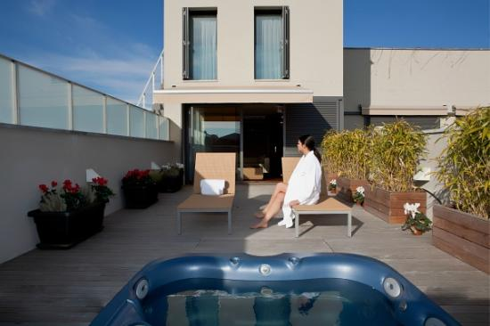 Caldes de Malavella, إسبانيا: Terraza Suite Prats