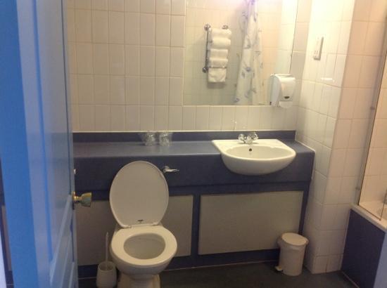 Diamond Lodge: bathroom