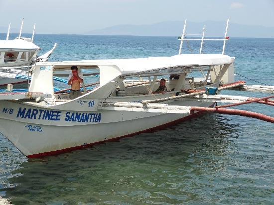 El Galleon Beach Resort & Hotel: Our transport across from Luzon to Mindoro