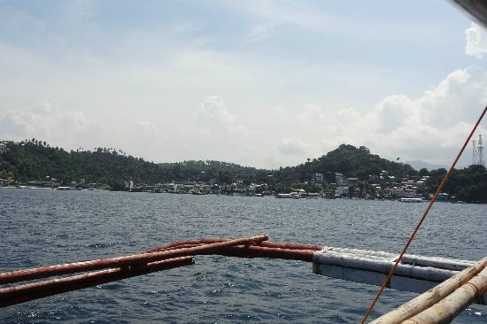 El Galleon Beach Resort & Hotel: Arriving at Sabang