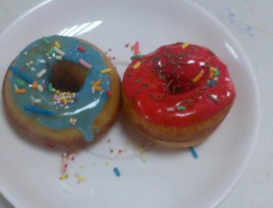Emirates Park Resort: The best donuts in the world are to be found at the Emirates Park Resort! 