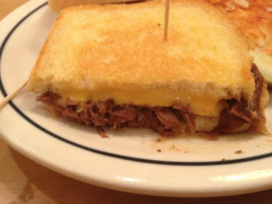 IHOP: Potroast Melt Sandwich