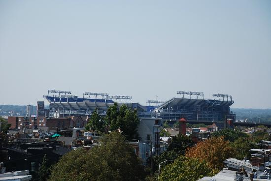 M&T Bank Stadium: Stadium from afar