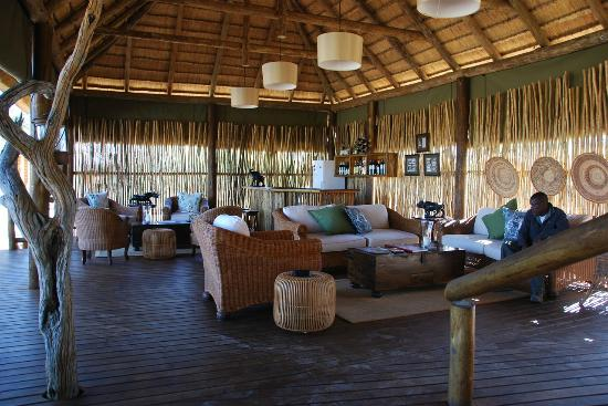 nThambo Tree Camp: Main Common Area