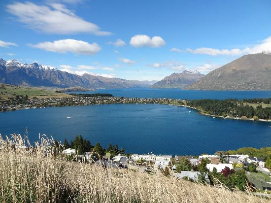 Hotel St Moritz Queenstown - MGallery Collection: view from above Queenstown