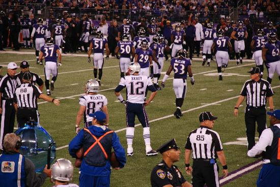 M&T Bank Stadium: Tom Brady