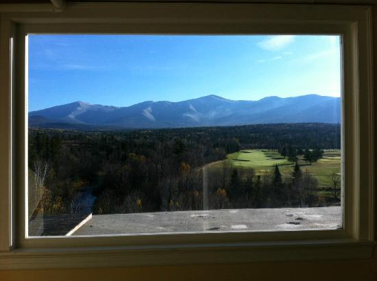 Omni Mount Washington Resort: from 2nd floor stairwell window