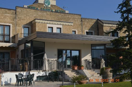 Terra Umbra Hotel: ingresso hotel terra umbra