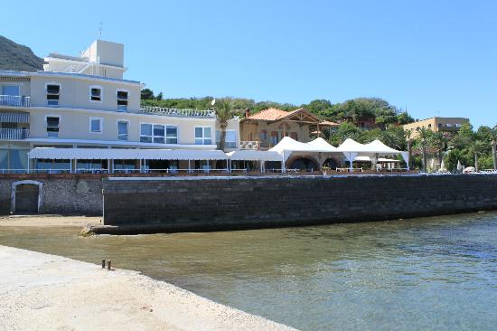 Hotel Maga Circe: From the sea