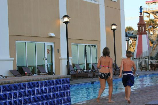 Westgate Myrtle Beach Oceanfront Resort: There are no adult only pools any longer but enough of them to find one you like