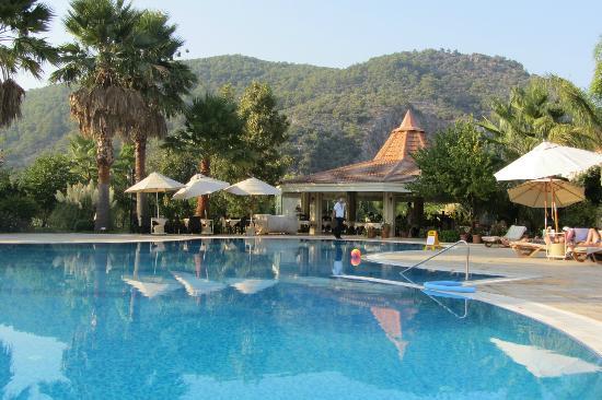 Dalyan Resort: Poolbereich