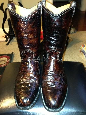 Alligator Boots I Bought At Rogers Boots Picture Of Rogers Boots Cozumel Tripadvisor