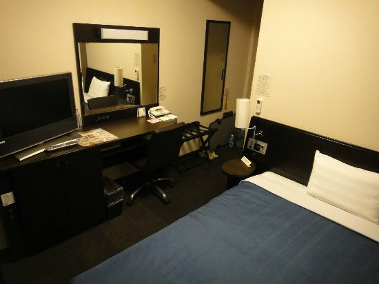 Hotel Route Inn Iwata Inter: 机周り
