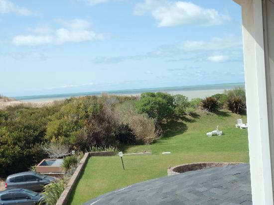 Marcin Hotel Cariló: Vista desde la habitación- lateral al mar